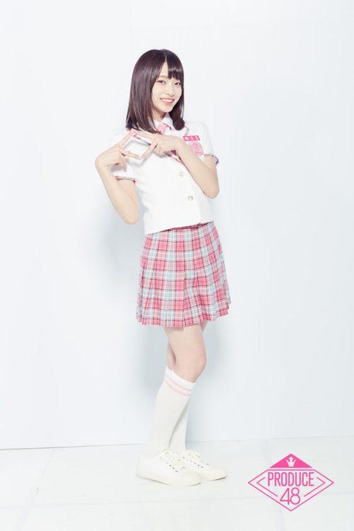 produce48の制服の後藤萌咲