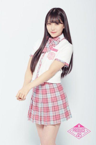 プデュ48の制服の白間美瑠