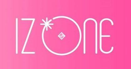 izoneピンクのロゴ
