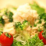 トマトとブロッコリーのポテトサラダ