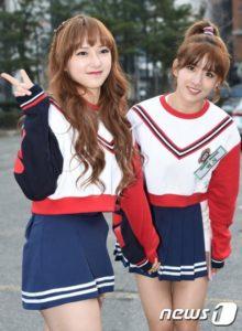 宇宙少女エクシとソンソブルーのミニスカート