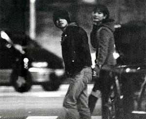 hydeと大石恵の2ショットスクープ画像