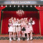 韓国のクイズショーに出演したizoneの集合写真