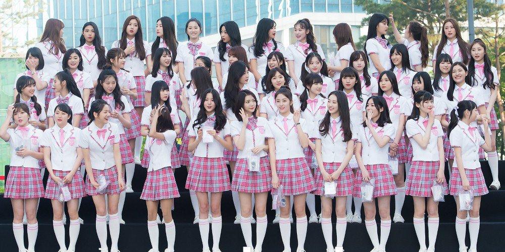produce48放送前のお披露目イベントに集まった96人