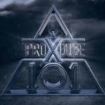 PRODUCEX101のダークなロゴ