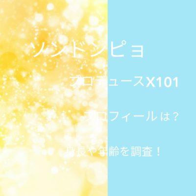 ソンドンピョプロデュースX101プロフィールは?身長や年齢を調査の文字が入った画像