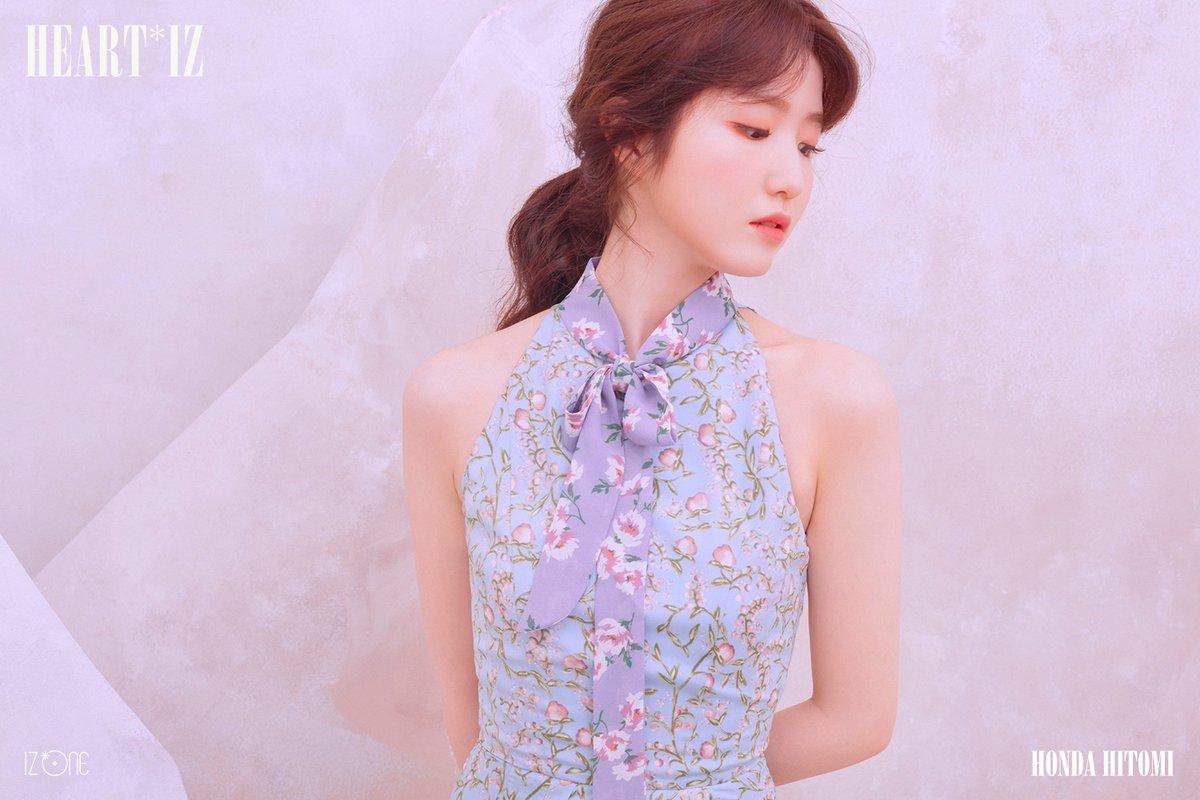 HEART*IZのビオレッタVer.の肩を出した衣装の本田仁美